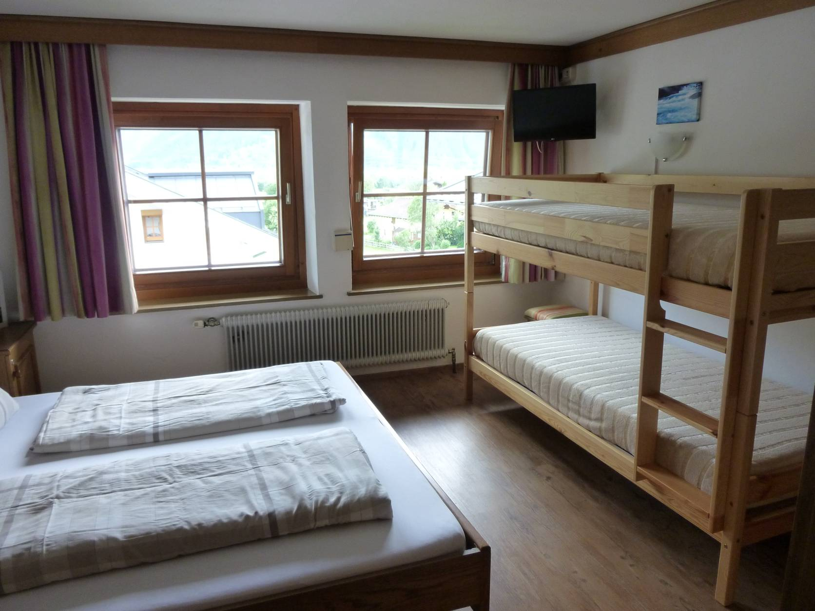 Four-bedded room Pension zu Hause